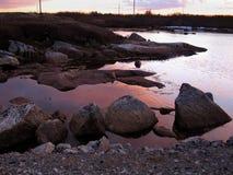 Terranova scenica Fotografia Stock