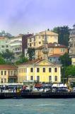 Terraplén de Estambul Fotografía de archivo