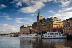 Terraplén de Estocolmo Fotos de archivo libres de regalías