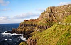 Terraplén de Giants, Irlanda Imagenes de archivo