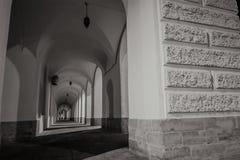 Terraplén de la universidad en St Petersburg Fotografía de archivo libre de regalías