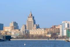 Terraplén de Savvinskaya Fotos de archivo libres de regalías