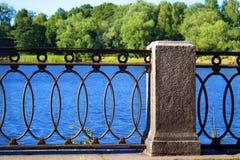 Terraplén de Vyborg Foto de archivo libre de regalías