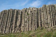 Terraplén del gigante, Irlanda del Norte Fotos de archivo