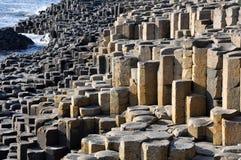 Terraplén del gigante, Irlanda del Norte Foto de archivo libre de regalías