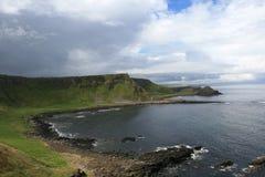 Terraplén del gigante - N.Ireland Fotos de archivo