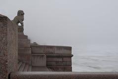 Terraplén del granito Fotografía de archivo libre de regalías