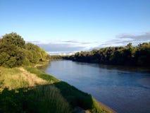 Terraplén del río fotografía de archivo libre de regalías
