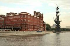 Terraplén del río de Moscú Fotos de archivo