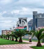 Terraplén en Batumi Imágenes de archivo libres de regalías