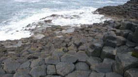 Terraplén gigante del ` s, Irlanda del Norte metrajes