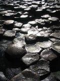 Terraplén Irlanda del gigante foto de archivo libre de regalías