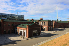 Terraplenagem Cesarevitch de Vladivostok Imagem de Stock Royalty Free
