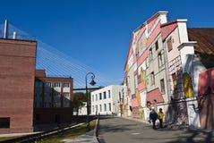 Terraplenagem Cesarevitch de Vladivostok Fotografia de Stock Royalty Free