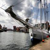 Terraplenagem de Gdansk Imagem de Stock
