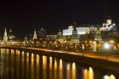 Terraplenagem de Kremlin Rússia moscow Foto de Stock