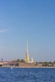 Terraplenagem de Neva Fotografia de Stock Royalty Free