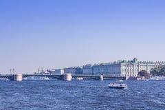 Terraplenagem de Neva Imagens de Stock Royalty Free