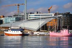 Terraplenagem de Oslo Imagens de Stock