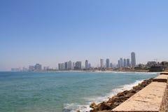 Terraplenagem de Tel Aviv Imagens de Stock