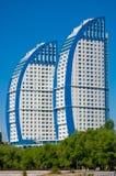 Terraplenagem de Volgograd Fotografia de Stock