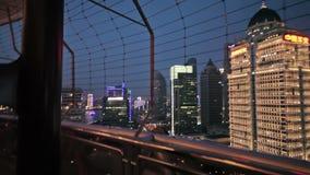 Terraplenagem de Waitan de Shanghai filme