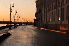 Terraplenagem do palácio Foto de Stock Royalty Free