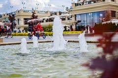 Terraplenagem em Kazan Imagens de Stock