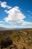 Terras abertas de Argentina Foto de Stock Royalty Free