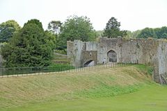 Terras de Leeds Castle Fotografia de Stock Royalty Free