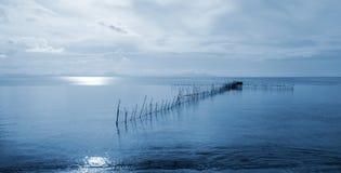 Terras de pesca Imagens de Stock Royalty Free