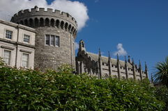 Terras do castelo de Dublin Imagem de Stock Royalty Free