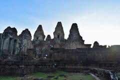 Terras do templo de Camboja Imagens de Stock Royalty Free
