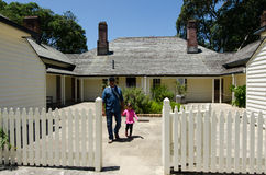 Terras do Tratado de Waitangi Imagem de Stock Royalty Free