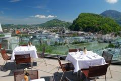 Terras em Salsburg foto de stock royalty free