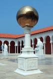 Terras in het museum Ralli. Caesarea, Israël Royalty-vrije Stock Fotografie