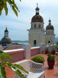 Terras op het dak Royalty-vrije Stock Fotografie