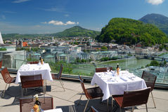Terras in Salsburg Royalty Free Stock Photo