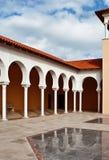 Terras in Spaanse stijl. Israël Royalty-vrije Stock Fotografie