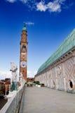 Terras van Basiliek, Vicenza, Italië Royalty-vrije Stock Foto's