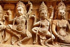 Terras van de Lepralijderkoning, Angkor Wat, Kambodja Royalty-vrije Stock Foto