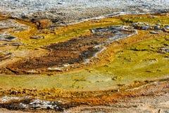 Terrasberg, Kalksteen en Rotsvormingen Stock Afbeelding