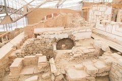 Terrashuizen in de Oude Stad van Ephesus Stock Fotografie