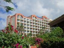Terrasmening van Sonesta Maho Beach Hotel Royalty-vrije Stock Fotografie