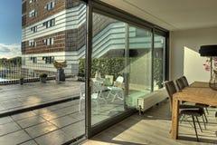 terrass Fotografering för Bildbyråer