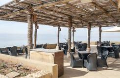 Terrass på det döda havet Royaltyfri Bild