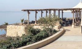 Terrass på det döda havet Royaltyfria Foton