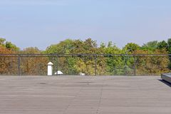 terrasse Stockfoto