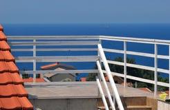 terrasse Stockfotografie