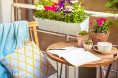 terrasse Lizenzfreie Stockbilder